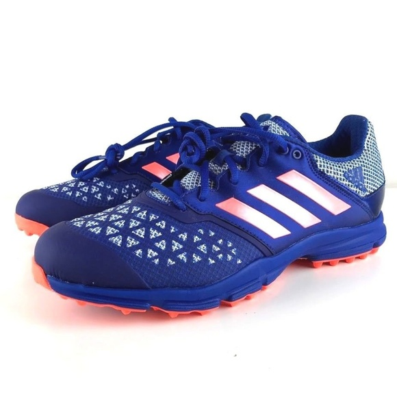 new arrival 63bf1 23ab1 Adidas Zone Dox Hockey Trainers Cleats Shoes Sz 9